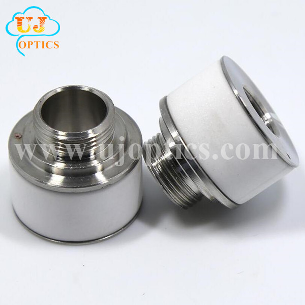 Diameter 24.4mm Height 22.3mm Laser ceramic for Nukon Laser cutting machines Highyag Head