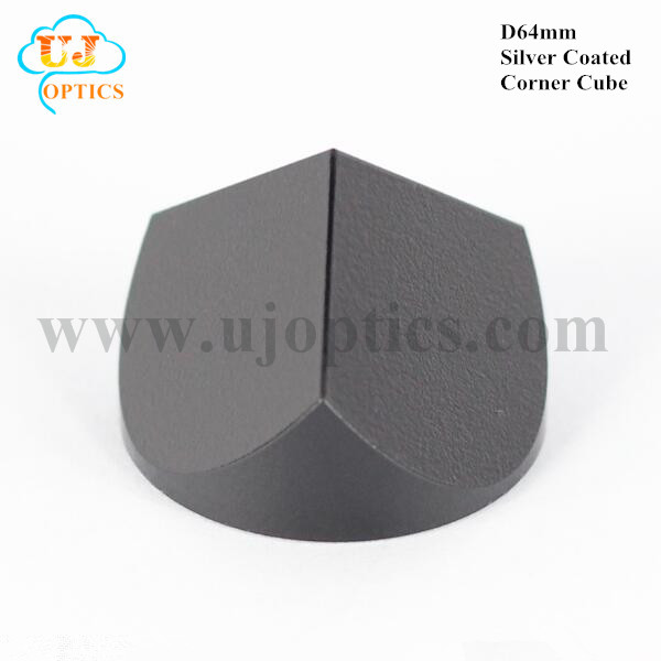 64mm K9 BK7 silver coated corner cube prism for Topcon Leica Sokkia