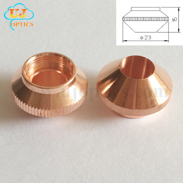 Laser copper nozzles for lasermech CINCINNATI