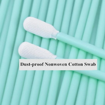Dust-proof Nonwoven Cotton Swab For Clean Focus Lens And Protective Windows