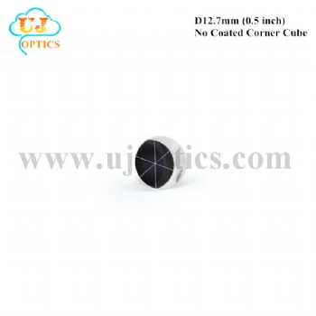 12.7mm 0.5inch K9 BK7 no coated corner cube reflector for total station