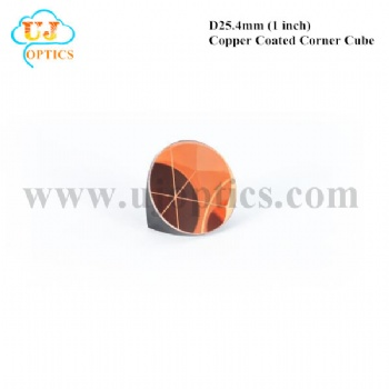 25.4mm 1inch K9 BK7 copper coated corner cube for total station