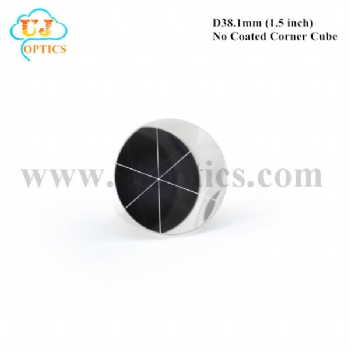 38.1mm 1.5inch K9 BK7 no coated corner cube reflector for total station