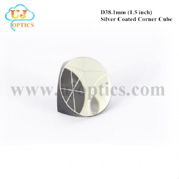 38.1mm 1.5inch K9 BK7 silver coated corner cube prism for total station