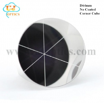 64mm K9 BK7 no coated corner cube reflector for Topcon Leica Sokkia