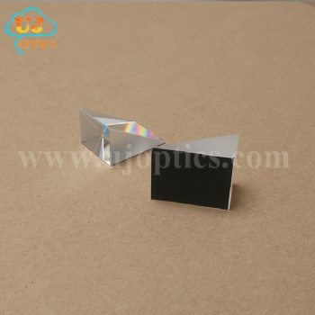 K9 BK7 15x15x15mm 25x25x25mm 19x33x26mm internal reflection right angle prism for lazy glasses
